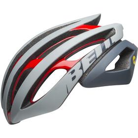 Bell Z20 MIPS Cykelhjelm, remix matte/gloss gray/crimson